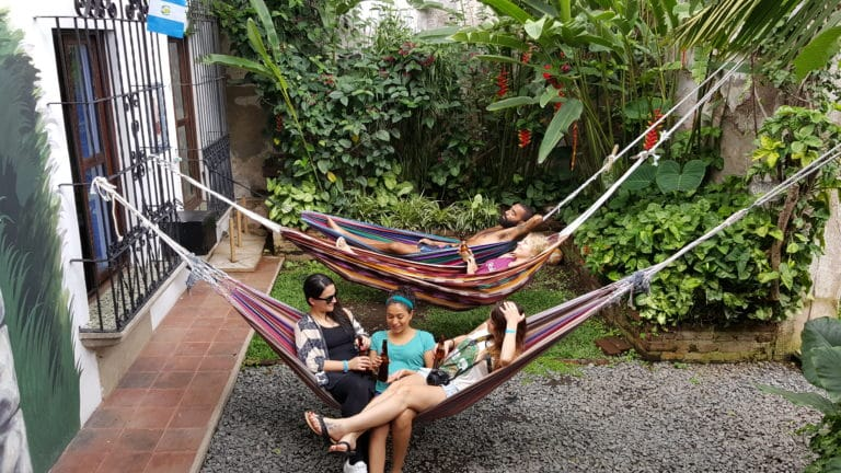 Hammocks at Tropicana